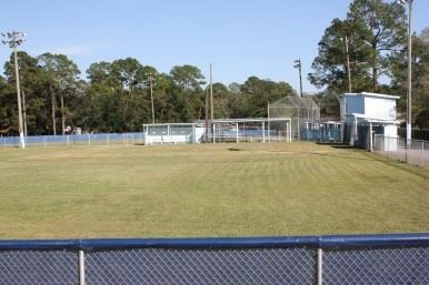 Image of baseball field in Gautier Street Ball Park