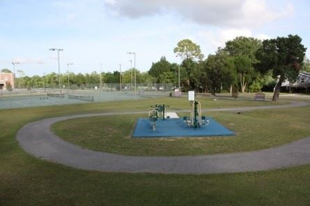 Image of playground in Magnolia Tennis Park