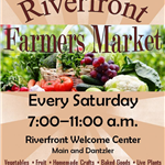 Riverfront Farmers Market Flyer please distribute