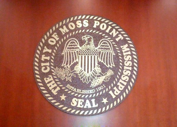The seal of Moss Point
