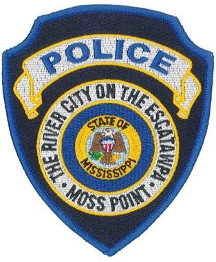 City of Moss Point Police Patch